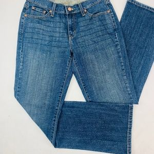 Levis 529 Womens Jeans Blue Curvy Boot Cut Med